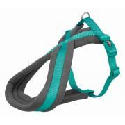 Trixie Premium Touring шлейка для собак средних пород,размер M, 45–80 см/25 мм, синий