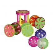 Trixie пластиковая игрушка для кошек колокольчиком