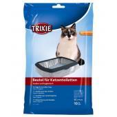 Trixie пакеты уборочные для кошачьих туалетов, размер XL: 56 x 71 см, 10 шт.