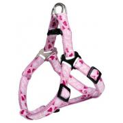 Trixie нейлоновая шлейка для собак карликовых и мелких пород,размер XXS-XS, 25-35см/10 мм,розовый