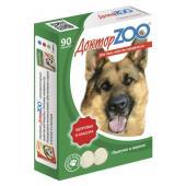 ДокторZOO полезное и вкусное лакомство для собак с L-карнитином, 90 табл.