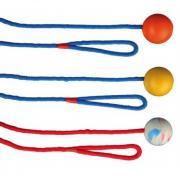 Trixie игрушка для собак мяч на веревке, 1 шт