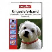 Beaphar ошейник от блох и клещей для собак (красный) 65 см