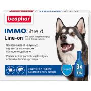 Beaphar İmmo Shield Line-on капли от паразитов для собак весом от 15 до 30 кг, 1 пипетка