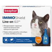 Beaphar İmmo Shield Line-on капли от паразитов для кошек, 1 пипетка