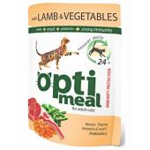 Optimeal с ягненком и овощами в желе