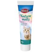Trixie Cat Malt паста с солодом  для выведения шерсти для кошек, 100 г