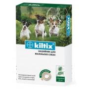 Kiltix ошейник против клещей и блох для мелких собак