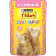 Friskies для котят c курицей в подливе, 85 г