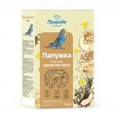 «Папужка. Йод» полноценный корм для волнистых попугаев, 500 г
