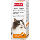Beaphar Laveta Super кормовая добавка для кошек, 50 мл