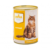 Lapka влажные консервы для кошек с курицей, 415 г