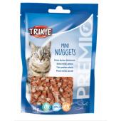 """Trixie """"Mini Nuggets"""" лакомство для кошек с тунцом, курицей и кошачьей мятой"""