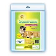 «Доброзверики» многоразовая подстилка для домашних животных 60×95 см, 1 шт.