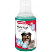 Beaphar Mouth Wash ополаскиватель полости пасти для кошек и собак, 250 мл