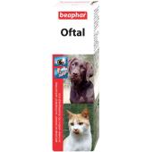 Beaphar Oftal средство для чистки глаз и удаления слезных пятен, 50 мл