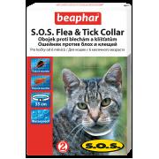 Beaphar S.O.S. Flea & Tick ошейник от блох и клещей для кошек, 35 см