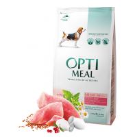 Optimeal для собак всех пород с индейкой (на развес)