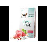 Optimeal для собак всех пород с индейкой (целый мешок 12 кг)