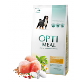 Optimeal Maxi сухой корм для собак крупных пород с курицей (целый мешок 12 кг)
