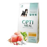 Optimeal для собак крупных пород с курицей (целый мешок 12 кг)