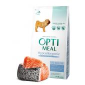 Optimeal гипоаллергенный для взрослых собак средних пород с лососем (на развес)