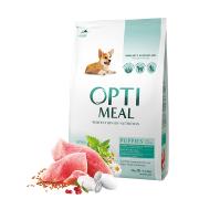 Optimeal для щенков всех пород с индейкой (целый мешок 12 кг)