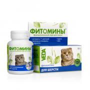 Фитомины с фитокомплексом для шерсти для кошек, 50 гр