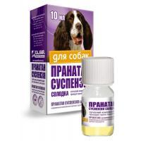 Пранатан суспензия противогельминтный препарат для взрослых собак 10 мл