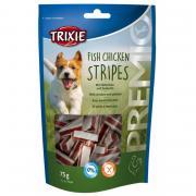 Trixie Fish Chicken Stripes лакомство для собак с цыпленком и сайдой