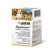 Procox суспензия для орального применения при нематодозах и кокцидиозе у собак, 7,5 мл