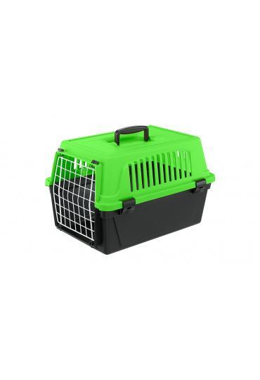 Ferplast Atlas 10 Neon переноска для кошек и маленьких собак, 32,5 x 48 x 29 см