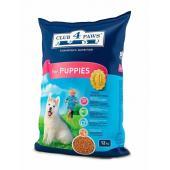 Club 4 paws сухой корм для щенков всех пород (целый мешок 12 кг)