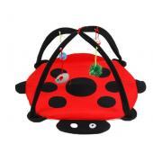 Игрушка складной коврик-палатка для кошек и мелких собак, 50×50×30 см
