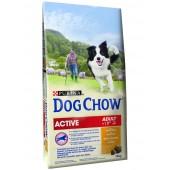 Dog Chow корм для собак старше 1 года с курицей (на развес)