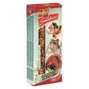 Smakers (колосок) с плодами рожкового дерева для грызунов и кролика 2 шт.