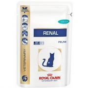 Royal Canin Renal влажный диетический корм для кошек при хронической почечной недостаточности с тунцом