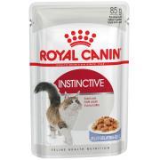 Royal Canin Instinctive полнорационный влажный корм для кошек старше одного года, 85 г