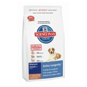 Hill's Science Plan Mature Adult 7+ Active Longevity для взрослых собак старше 7 лет с ягненком и рисом 9273M (целый мешок 12 кг)