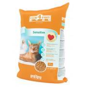 Club 4 paws корм для кошек с чувствительным пищеварением (целый мешок 11 кг)