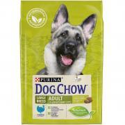 Dog Chow корм для собак крупных пород старше 2 лет с индейкой (целый мешок 2.5 кг)