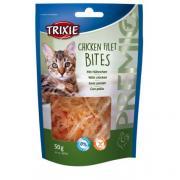 Trixie Chicken Filet Bites лакомство для кошек филе куриное сушеное