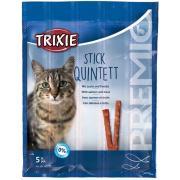 Trixie Stick Quintett лакомство для кошек с лососем и форелью, 5 шт.