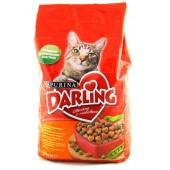 Darling корм сухой для взрослых кошек с курочкой по-домашнему и овощами (целый мешок 10 кг)