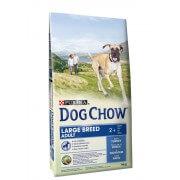 Dog Chow корм для собак крупных пород старше 2 лет с индейкой (целый мешок 14 кг)