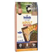 Bosch Adult сухой корм для взрослых собак со средним уровнем активности с лососем и картофелем + молозиво (целый мешок 15 кг)