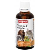 Beaphar Vitamine B Complex кормовая добавка для всех домашних животных, 50 мл