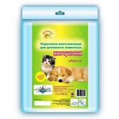 «Доброзверики» многоразовая подстилка для домашних животных 48×35 см, 1 шт.