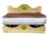 Chucho кроватка для собак и кошек с матрасом и съемной подстилкой, 60×40×9 см
